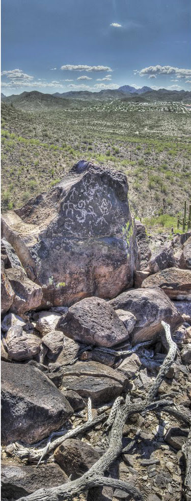 rock art panorama