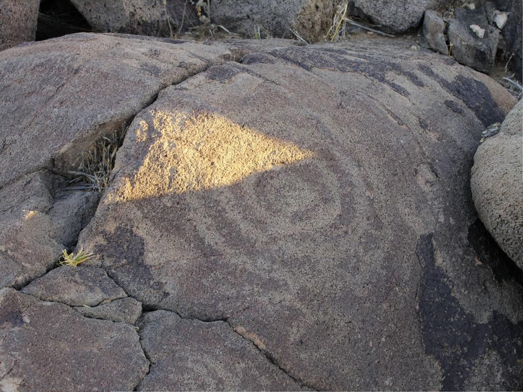 Solstice calendar stone, Tumamoc hill
