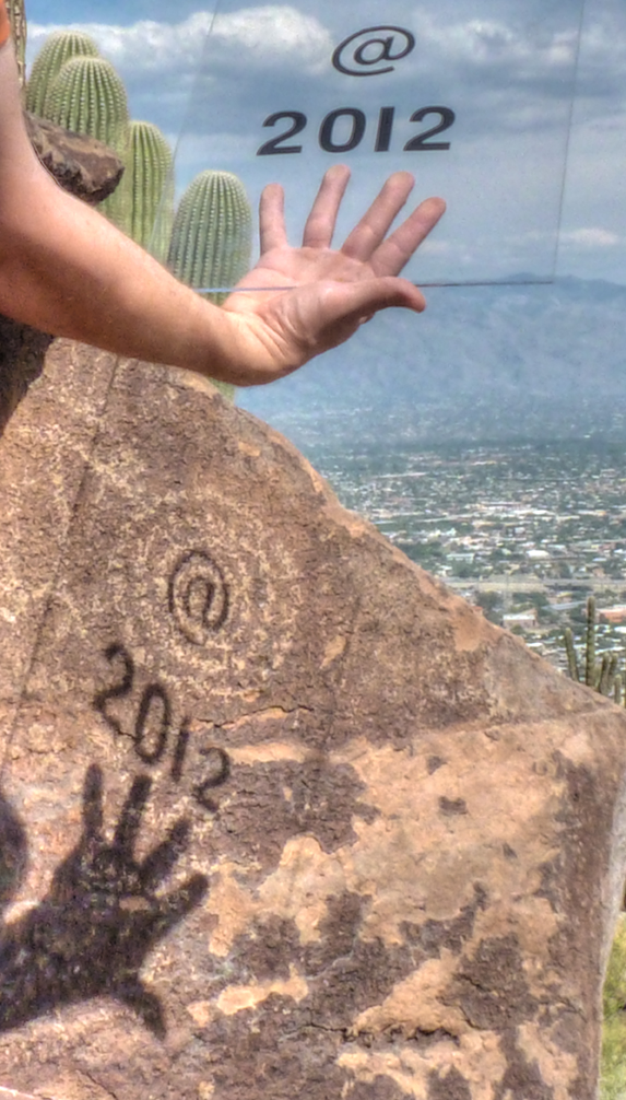 words and rock art, Eric Magrane