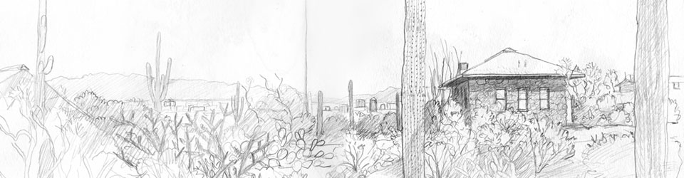 slideshow: Sketchbook-​Desert Lab