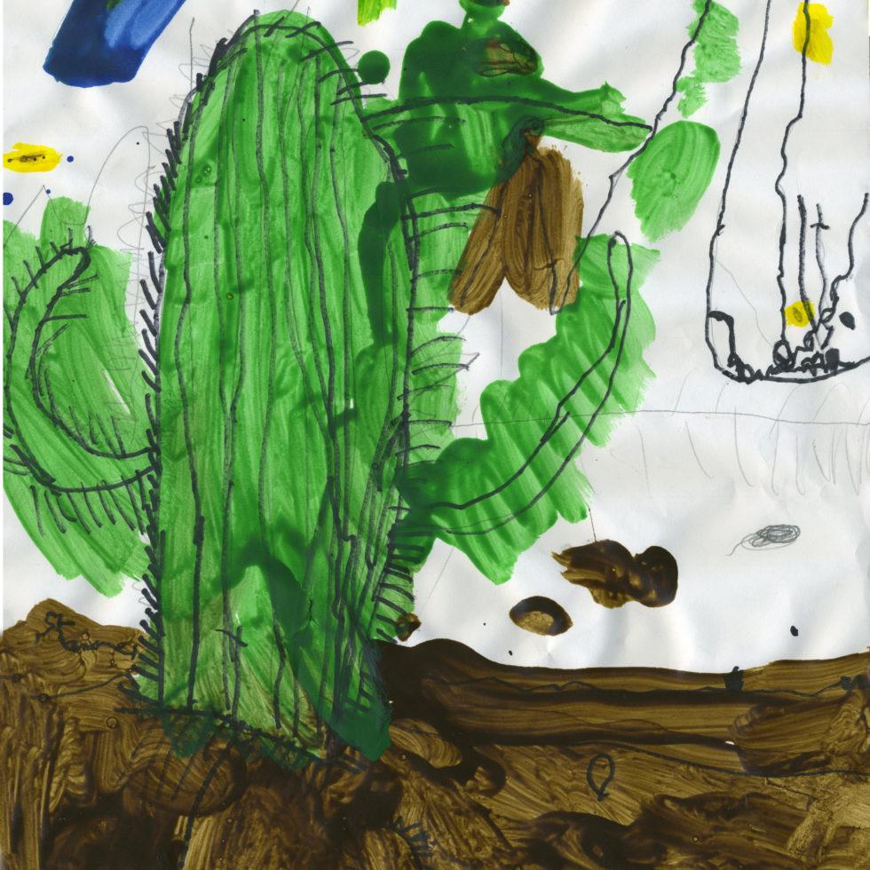 Leo's saguaro