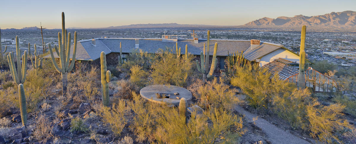 The old botanical garden at the Desert Lab, photographed by Paul Mirocha June 2017