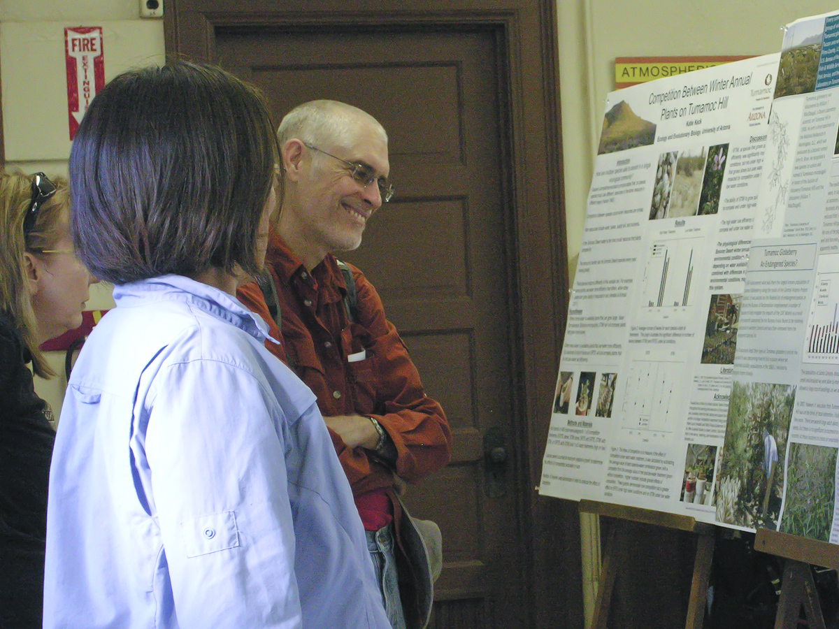 Tumamoc poster session