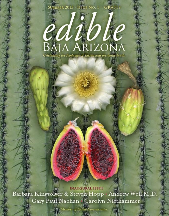 Edible Baja Arizona, first edition.