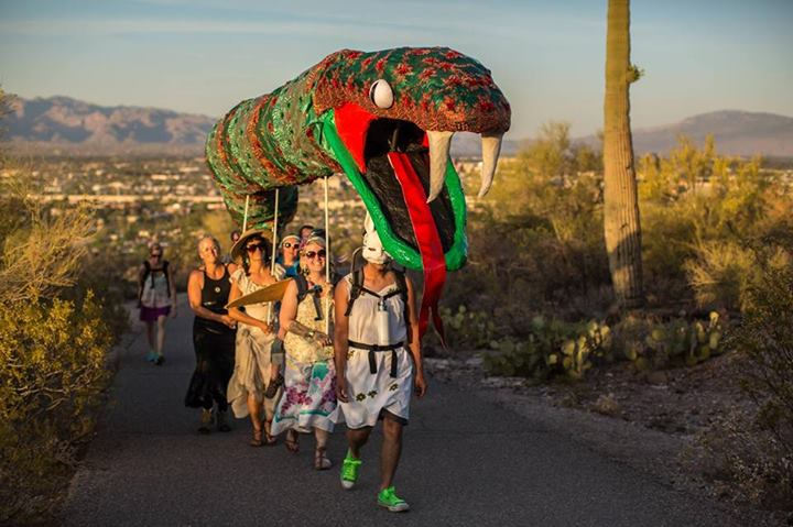 maY snake procession