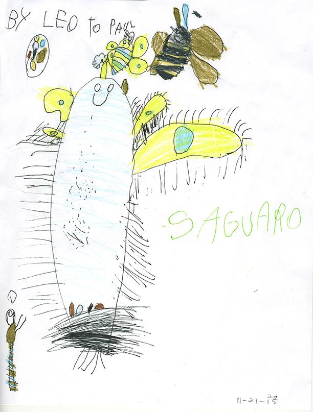 Happy Saguaro-by Leo Mirocha
