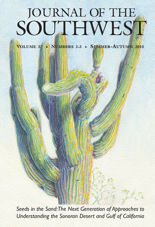 Journal of the Southwest cover