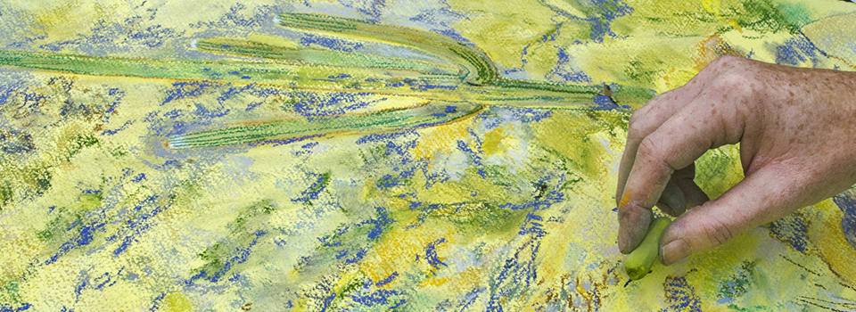 Meredith Milstead pastel painting